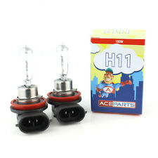 H11 100w Clear Standard Halogen Xenon HID Front Fog Lamp Light Bulbs Pair