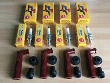 SUZUKI GSX1100 EFE-EFG 1984-1988 NGK SPARK PLUGS AND CAPS FREE POST!