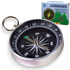 METAL POCKET COMPASS SCOUT TOY KIDS BOY GIRL GIFT BIRTHDAY PARTY BAG FILLER