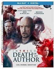 Intrigo: Death Of An Author (Blu-ray + Digital, 2020) BRAND NEW w/ Slipcover!