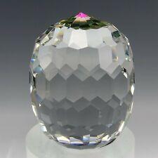 New ListingRetired Swarovski Austrian Crystal Revolution Barrel 7453 Glass Paperweight Tck