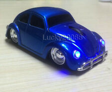 USB Wireless 1967 Volkswagen VW classic car beetle optical mouse Mice Blue Gift