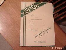 Mary Merrill, arr Kasschau: First Robin, 1 piano, 4 hands (Schroeder & Gunther)