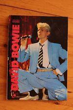 Rare EO DAVID BOWIE Jean Paul Bourre / Encre 1984