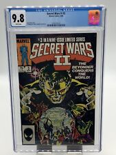 Secret Wars ll #3 CGC 9.8 WP 1st Appearance Beyonder (1985) Key Issue NEW CASE