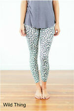 Leggings Super Soft ONE SIZE OS ( Green Leopard ) Buttery Soft Ooh La Leggings