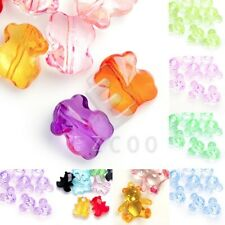 Acrylic Transparent Animal Beads Jewelry Crafts Pendant Necklace Bracelet Making