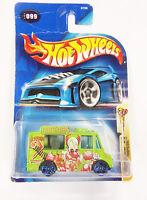 2003 Mattel Hot Wheels Crazed Clowns  Tropicool Green w/Blue wheels 5/5  Sealed