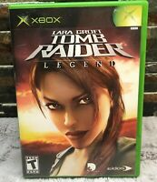 Lara Croft: Tomb Raider -- Legend (Microsoft Xbox, 2006) Used Tested Works