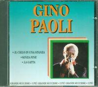 Gino Paoli - I Più Grandi Successi Cd Ottimo Spedito 48H