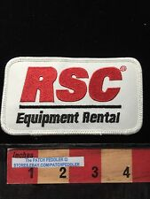 RSC EQUIPMENT RENTAL Advertising Patch CONSTRUCTION PETROCHEMICAL INDUSTRIAL 626