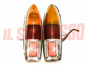 Lights Rear Right Left Fiat 1200 1500 1600 Osca Coupe Spider