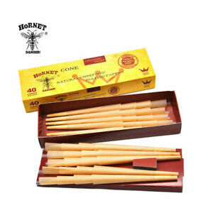 Hornet Classic King Size Cones Mega Pack 40 Cones - Pre Rolled Rolling Papers