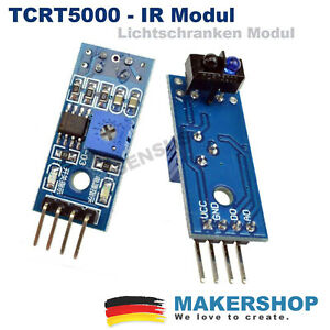 TCRT5000 Reflektierende IR Lichtschranke Optisch Sensor Modul Arduino Raspberry