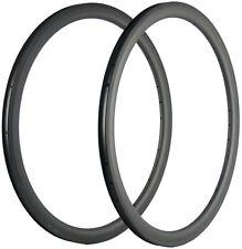 38mm Carbon Rims 25mm U Shape Clincher Bicycle Carbon Rims 16/18/20/21/24/28/32H