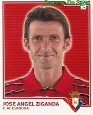 JOSE ANGEL ZIGANDA ESPANA CA.OSASUNA STICKER LIGA ESTE 2008 PANINI