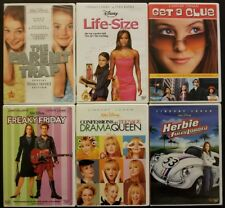 Disney Lindsay Lohan 6 DVD Lot - Parent Trap Freaky Friday Drama Queen Herbie