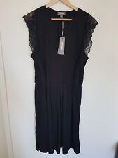 Sussan women's black dress BNWT L