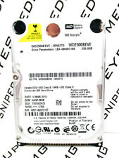 Western Digital 250GB WD2500BEVE-00WZT0 IDE Laptop Hard Drive WIPED&TESTED!