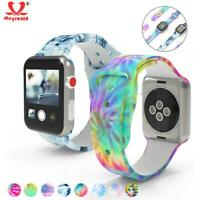 Soft Silicone Strap Replacement Wristwatch Band For iwatch SE Series 6 5 4 3 2 1