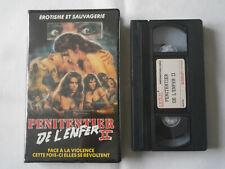 LE PENITENCIER DE L'ENFER 2 / VHS FILM HORREUR -18 /HELL PRISON / RARE