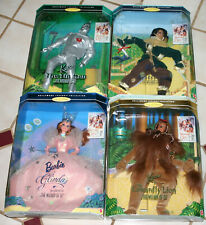 Lot of 4 Wizard Of Oz Barbie Hollywood Legends Collection (Boxes Unopened)