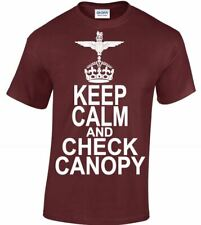 Keep Calm And Check Canopy - The Parachute Regiment & Airborne Forces