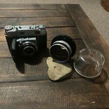 Retina III c vintage kodak camera with extra schneider- kreuznach 80mm lens