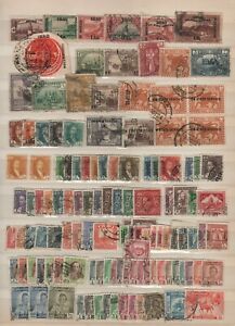 IRAQ. Usefull Lot of issues from Album collection mint and Used!