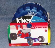 K'Nex 4X Speeders Set 1 #10311 Red Car 44 Pieces