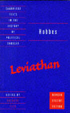 Hobbes: Leviathan: Revised Student Edition by Thomas Hobbes (Paperback, 1996)