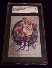 DIRK NOWITZKI 2000 2001 FLEER FUTURES Autographed Signed BASKETBALL Card 172 SGC
