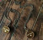 Brass antique your tommy your tubbo compass set of 2 pcs special unique gift