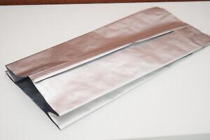 Mylar Heat Seal Aluminium Foil Bags / Sachet Food Grade 170mmx400x70mm 88pcs