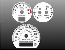 2000-2005 Chevrolet Impala TACH Dash Cluster White Face Gauges 00-05