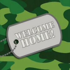 WELCOME HOME Camo Luncheon Napkins - Party Supplies