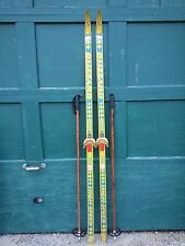 """Ready to Use Cross Country 73"""" BLIZZARD 190 cm Skis +  Poles"""