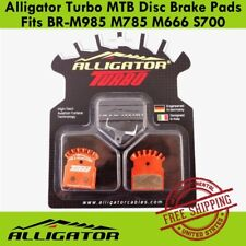 Alligator Turbo Brake Pads MTB Disc fits BR-M985 M785 M666 S700