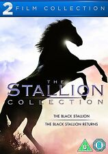 THE BLACK STALLION / THE BLACK STALLION 2 - DVD - REGION 2 UK