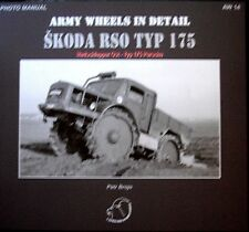 army wheels in detail no. 14 Skoda RSO typ 175. WW 2 axis truck with scale plans
