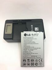 Original battery for LG LV3 Aristo M210 BL-45F1F 2410mAh With battery charger