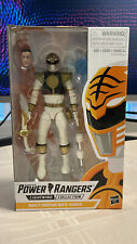 Hasbro Power Rangers White Ran Lightning Collection 6 Inch, Rare!