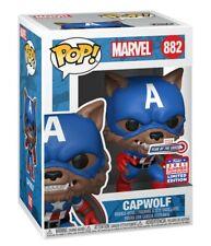 Funko Marvel Year of the Shield Capwolf Funkon 2021 Preorder