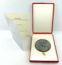 Medaille+Urkunde: Nr.317 Ciech Centralia Importowo Eksportowa Chemikalii e1605