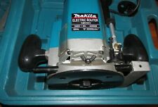MAKITA ROUTER 12mm -2200W - 240 VOLTS CASED - SOME ACCESSORIES, SEE PICS