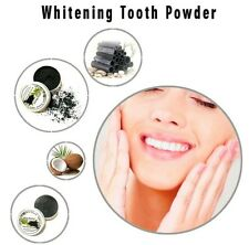 UK NEW✔Carbone & Coco Natural Organic Activated Charcoal Powder Teeth Whitening
