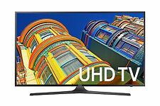 "Samsung 65"" 4K UHD Smart TV LED (2016) Wi-Fi Black MR 120 KU6300 NEW"