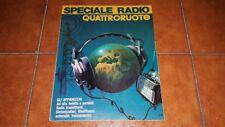 RIVISTA QUATTRORUOTE SPECIALE RADIO AUTORADIO 1970