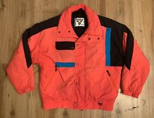 Vintage Tyrolia by Head Insulated Snow Ski Jacket Mens Large Neon Pink