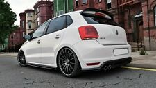 Cup Dachspoiler Heckspoiler schwarz für VW Polo GTI 6R MK5 Spoiler Splitter Rear